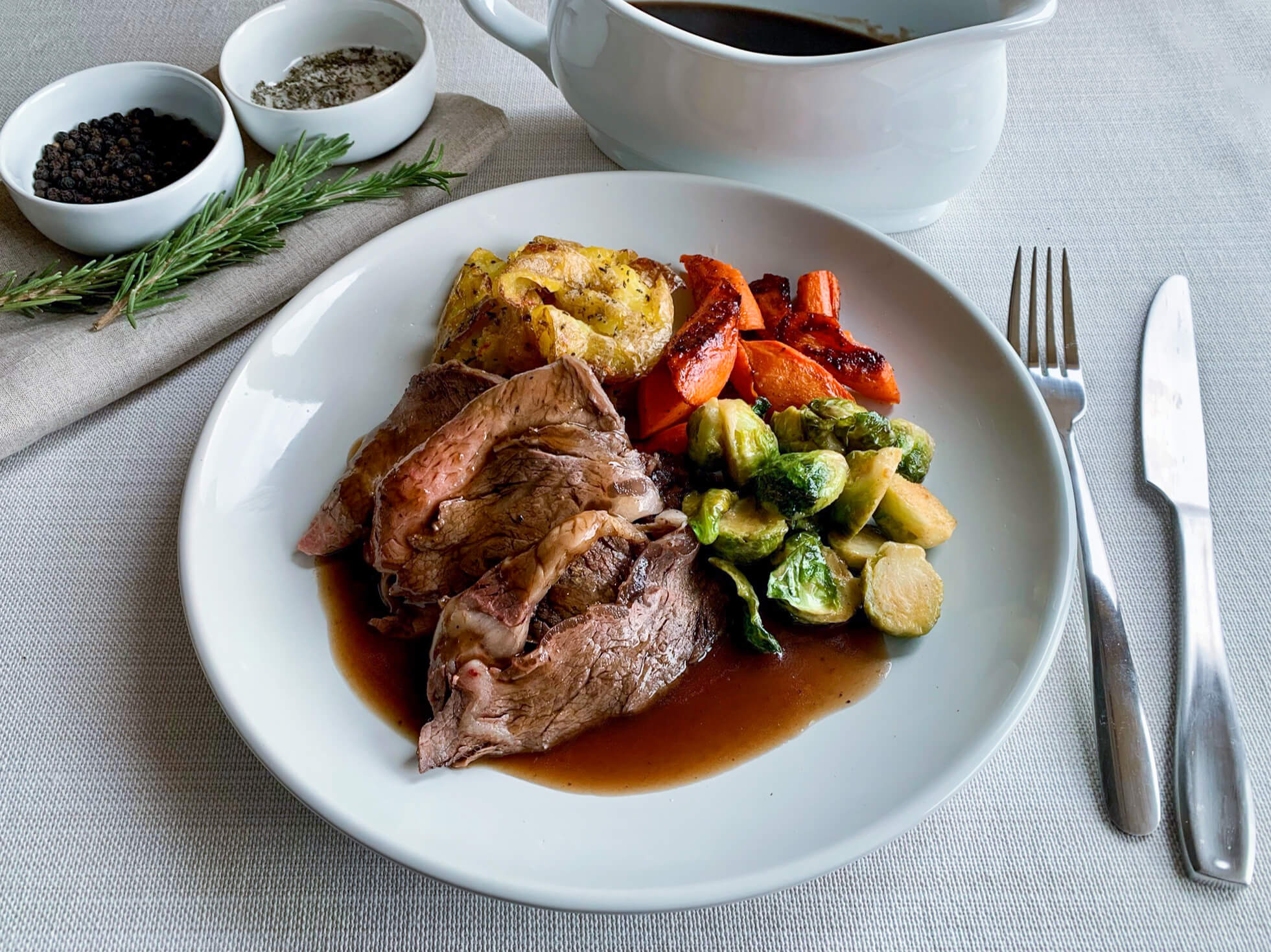 The Sunday Roast:  A Beef-eater Tradition