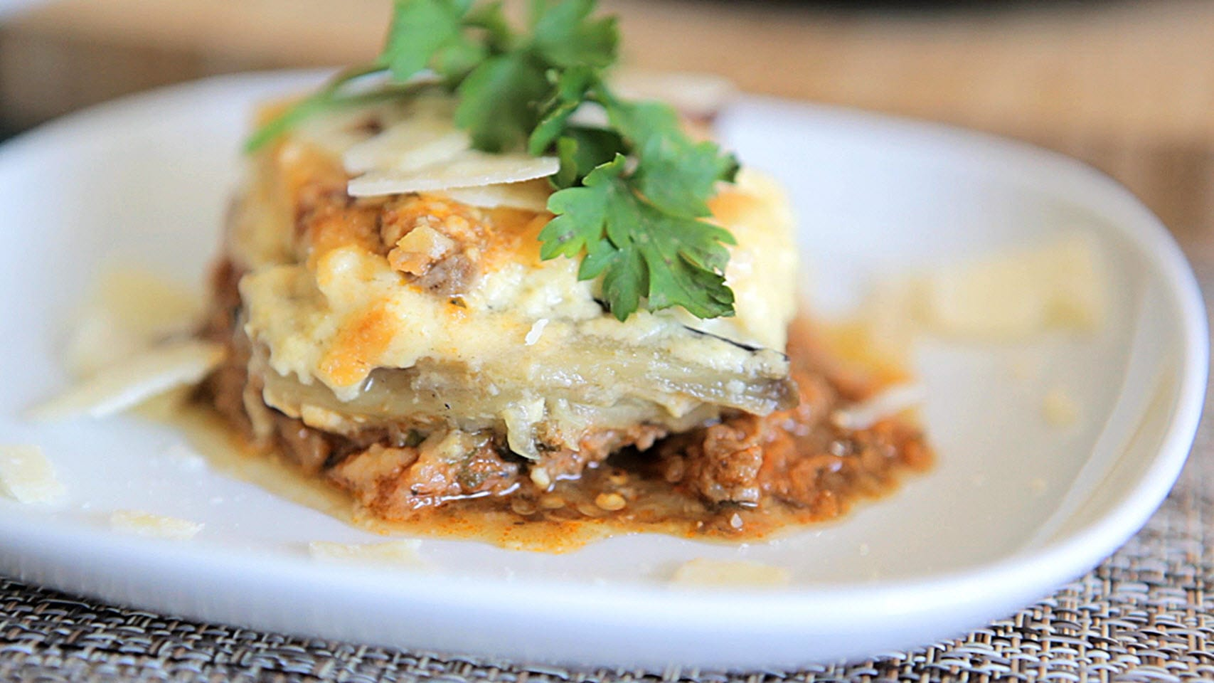 Traditional Greek Moussaka – Global Flavors Recipe Cards
